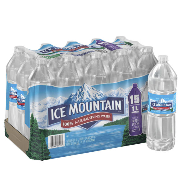 Ice Mountain 1 Liter 15 Pack